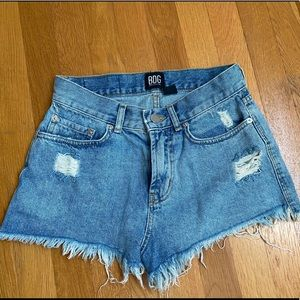 Urban outfitters jean shorts (BDG)